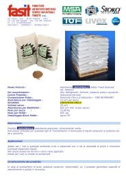 Assorbente UNIVERSALE Safety Tread Granules - Fasit