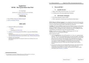 Kapitel II.4 - Fachbereich Translations-, Sprach- und ...