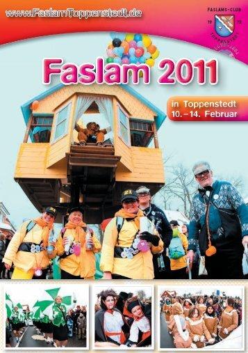 Programm 2011 - Faslam in Toppenstedt