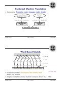 Statistical Machine Translation: the basic, the novel, and the ... - Page 4