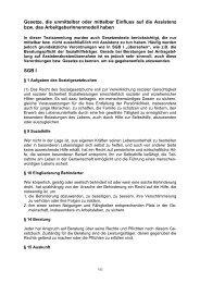 Gesetze zur Assistenz und häuslichen Pflege in Deutschland