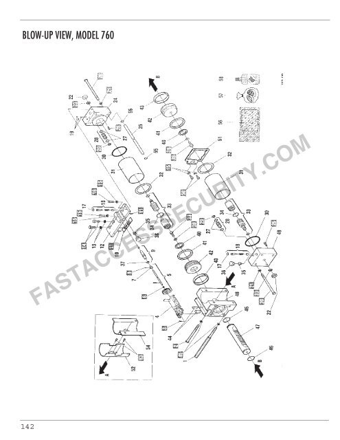 Faac 760 Swing Gate Operator Parts Diagram