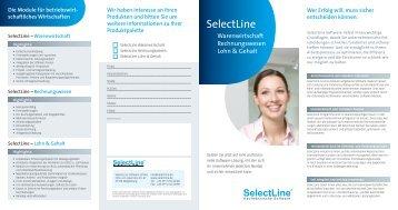 Flyer Selectline - astendo Gmbh