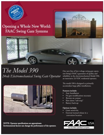 the model 390 swing gate operator faac usa?quality=85 model 390 swing gate operator faac usa faac 844 wiring diagram at alyssarenee.co