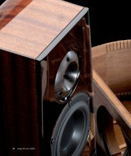Kiso Acoustic HB-1: Test in image hifi 2/2010 - FAST Audio