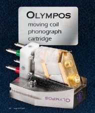LYRA Olympos: Test in image hifi 5/2003 - FAST Audio