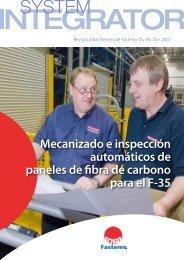 Mecanizado e inspección automáticos de paneles de ... - Fastems