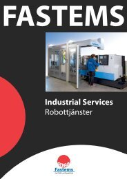 Industrial Services Robottjänster - Fastems