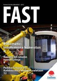 Fastems Oy Ab asiakaslehti nro 1/2012