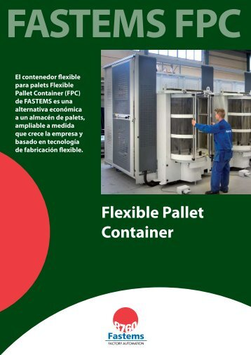 FPC (Flexible Pallet Container) - Fastems