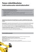 FANUC robottikoulutus, syksy 2010 - Fastems - Page 2