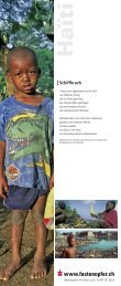 Haïti - Fastenopfer