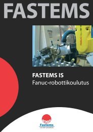 FASTEMS IS Fanuc-robottikoulutus
