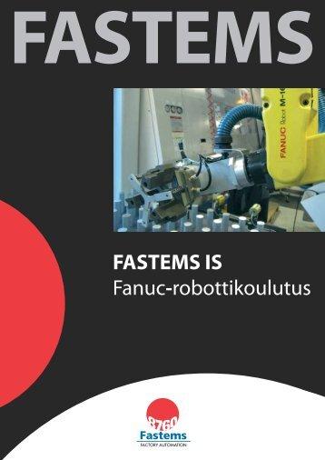 FASTEMS IS Fanuc-robottikoulutus