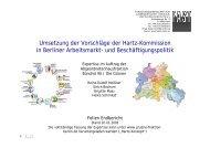 Umsetzung der Vorschläge der Hartz-Kommission in Berliner ...