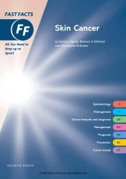 Skin Cancer - Fast Facts