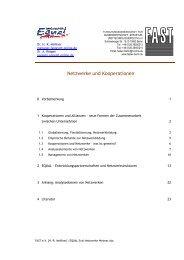 Netzw erke und Kooperationen