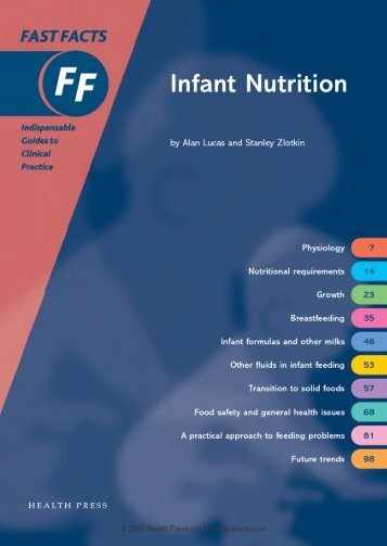 Infant Nutrition - Fast Facts