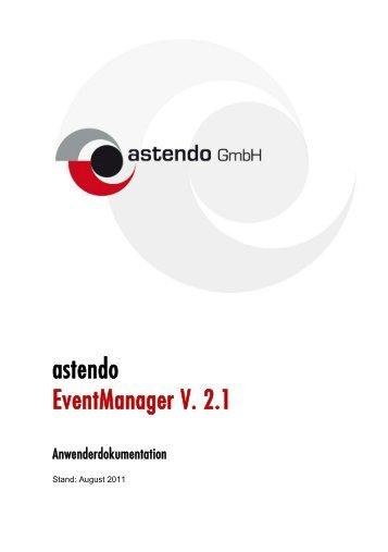 Astendo Eventmanager V. 2 - astendo Gmbh