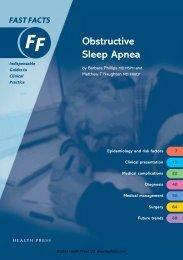 Obstructive Sleep Apnea - Fast Facts