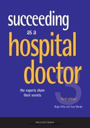 succeeding hospital doctor - Fast Facts