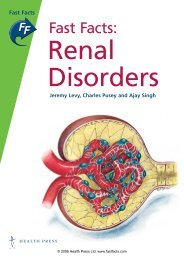 Renal Disorders - Fast Facts