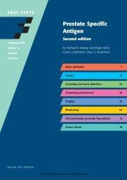 Prostate Specific Antigen - Fast Facts