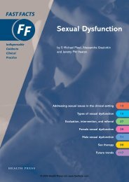 Sexual Dysfunction - Fast Facts