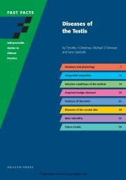 Diseases of the Testis - Fast Facts