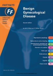 Benign Gynecological Disease - Fast Facts