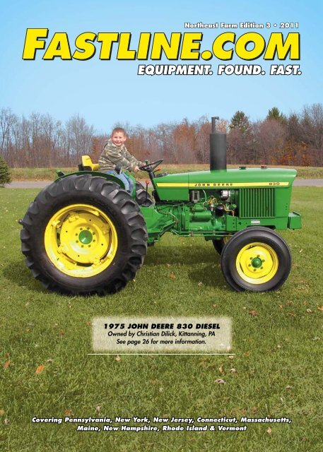 Original John Deere Sales Brochure 18 To 48 HP Ten Series Tractors  M1300