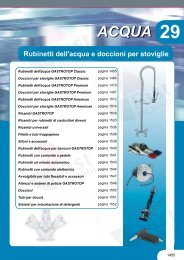 Acqua-Rubinetti dell'acqua e doccioni per stoviglie - Fast Ricambi