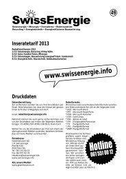SwıssEnergie - fastsolution AG