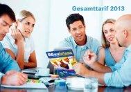 Gesamttarif 2013 - fastsolution AG