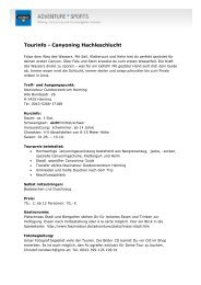 Tourinfo - Canyoning Hachleschlucht