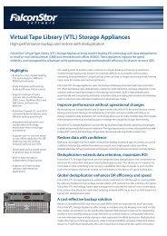Virtual Tape Library (VTL) Storage Appliances - ASTCO