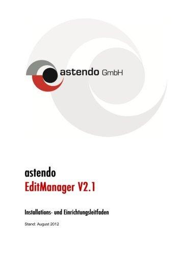Download Installationsleitfaden - astendo Gmbh