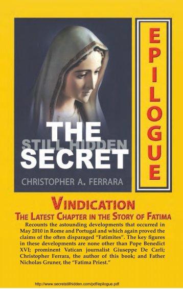 Vindication Booklet