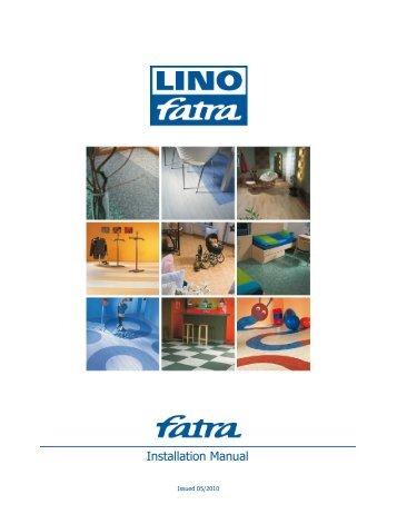 Installation Manual - Fatra