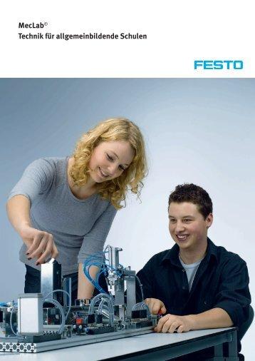 MecLab® Technik für allgemeinbildende Schulen (de) - Festo Didactic