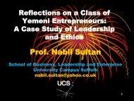 Prof. Nabil Sultan - Feweb