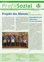 Projekt des Monats - Hochschule Fulda