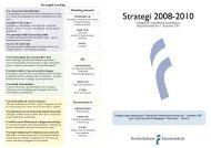 Strategi 2008-2010 - Frederikshavn Handelsskole
