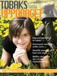 Tobaksuppdragets tidning, nr 2, 2,52 MB - Statens folkhälsoinstitut