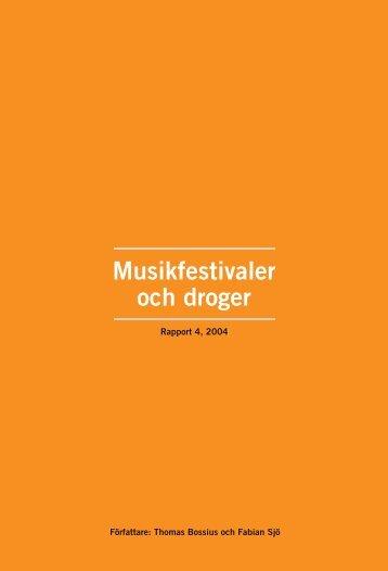 Musikfestivaler och droger, 188 kB
