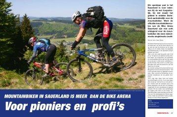 Mountainbiken in Sauerland iS Meer dan de bike arena - Fiets