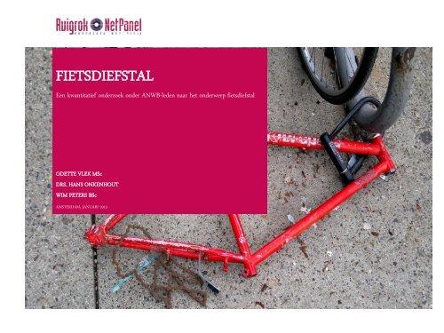 ANWB panelonderzoek fietsdiefstal januari 2013.pdf - Fietsberaad