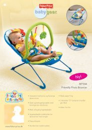 M7344 Friendly Firsts Bouncer - Fisher Price