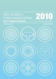 DEN GLOBALA FORDONSINDUSTRIN - BIL Sweden