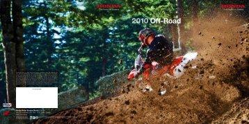 2010 Off-Road - Honda